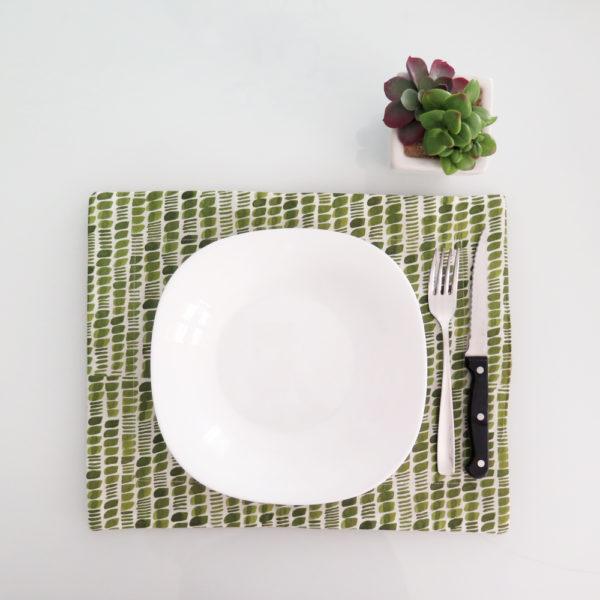tovaglietta semi verde oliva 01